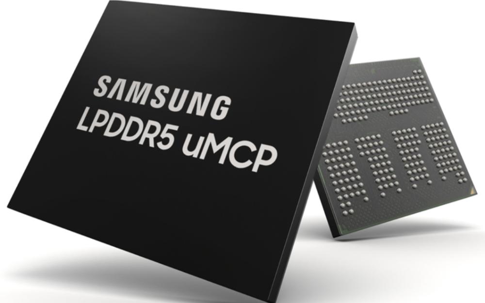 三星量产最新手机闪存解决方案 基于LPDDR5和UFS的多芯片封装uMCP