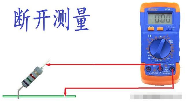 怎么測量在線電阻的電流?