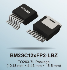 ROHM推出内置1700V SiC MOSFET...