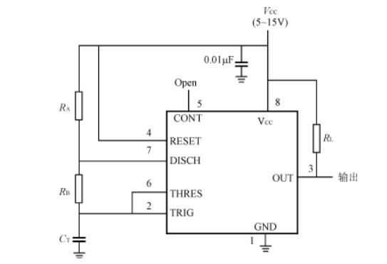 ne555引腳圖及功能