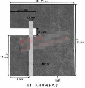 基于微帶饋電和FR4介質板實現開口縫隙天線的設計