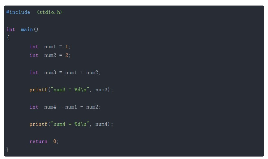 小編科普幾種C語言中的運算符