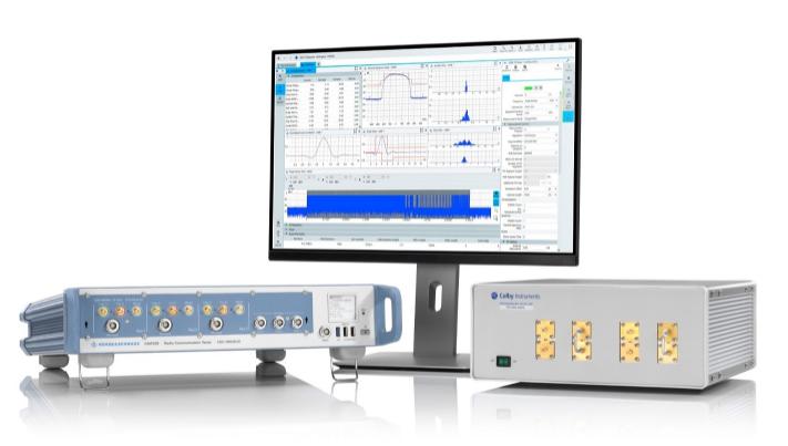羅德與施瓦茨攜手Colby Instruments推出UWB設備精確定位測試解決方案