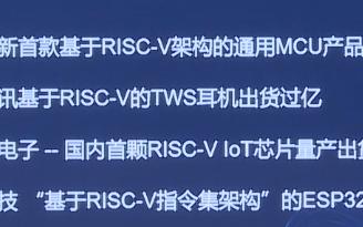 第一屆RISC-V中國峰會上賽昉科技分享RISC-V在芯片中的應用