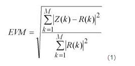 誤差向量分析實際的測量與應用