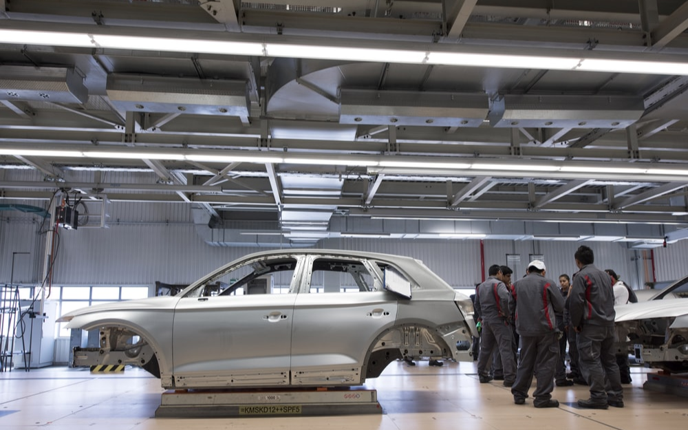 車載芯片短缺緩解提前至下半年 大眾墨西哥工廠復產