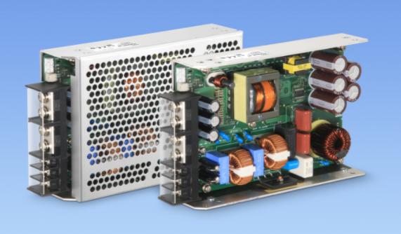 科索發布一款用于醫療和工業應用可提供300%峰值功率的開放式電源