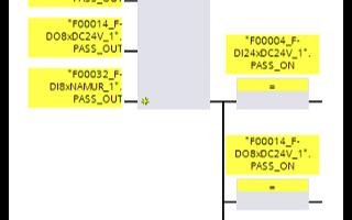西门子PLC的F-I/O的组钝化及示例分析