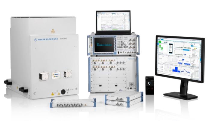 罗德与施瓦茨在MWC21上展示应对5G NR设备...