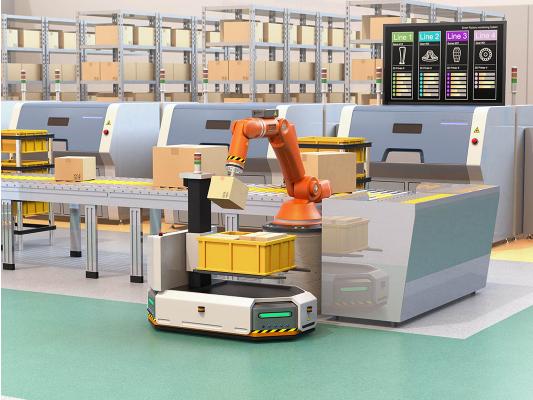 """艾迈斯欧司朗推出新款3D传感产品,为机器人装上""""..."""
