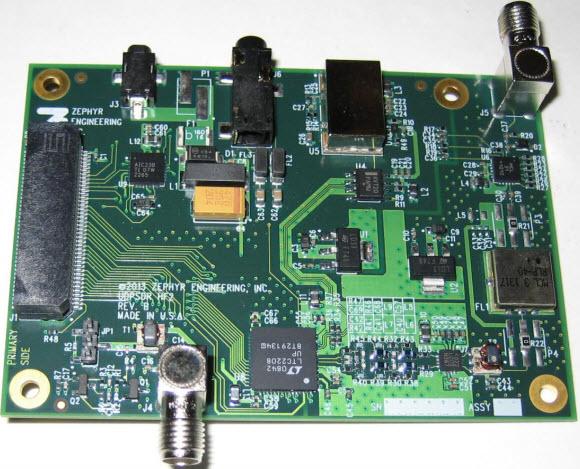 基于UDPSDR-HF2接收器的参考设计