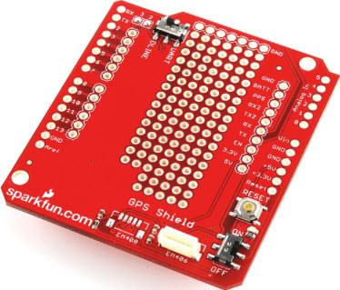 基于GPS-09817接收器的参考设计