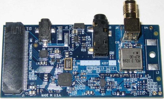 基于UDPSDR-HF1接收器的参考设计