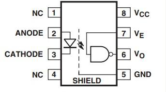 6n137引脚图及功能