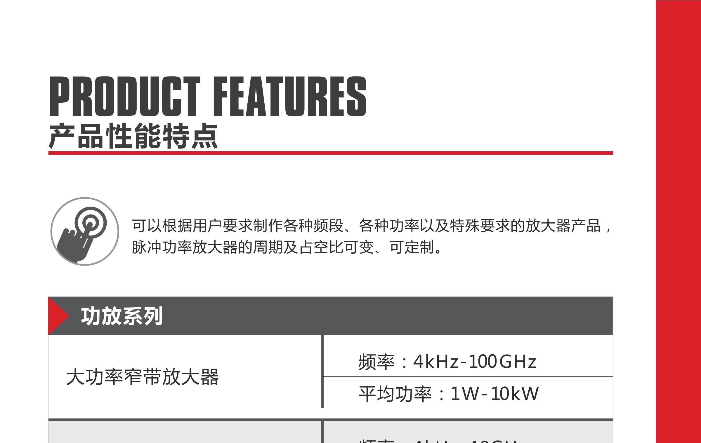 纳特通信EMC功放设备选型表
