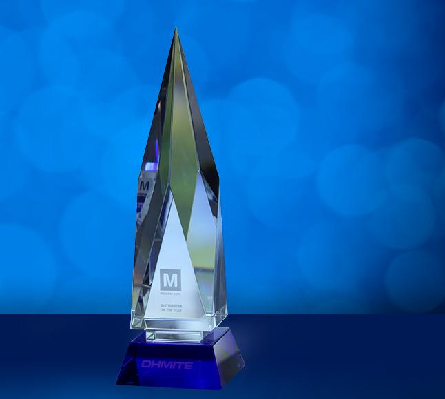贸泽电子荣膺Ohmite 2020年渠道合作伙伴奖