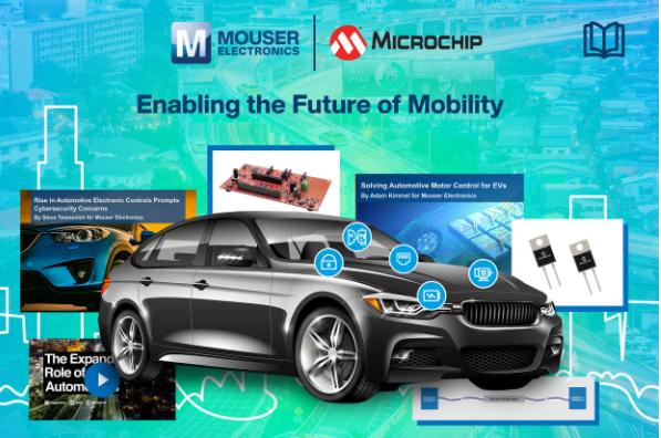 Microchip與貿澤合作推出新電子書  探索...