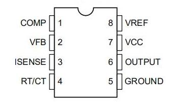 UC3845引脚功能参数