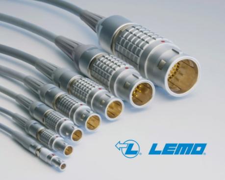 帶定位銷的標準自鎖多芯連接器