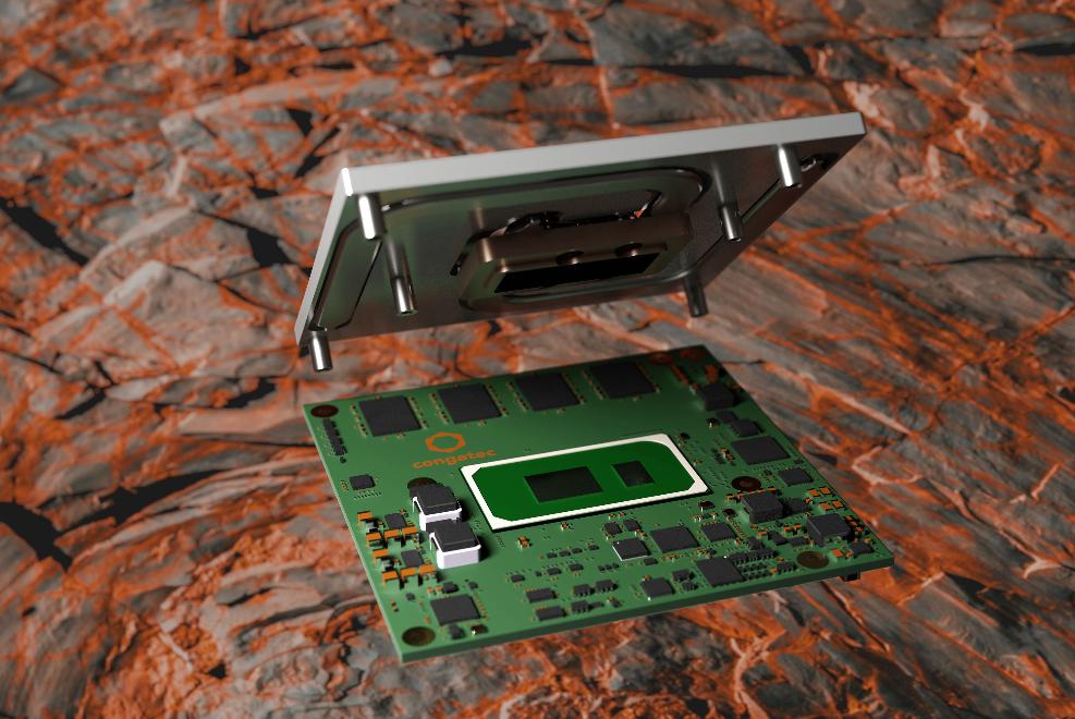 自带板载内存的超强固型最新第11代英特尔®酷睿®康佳特模块