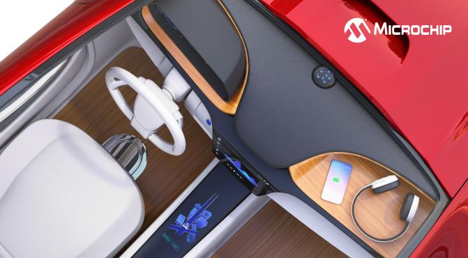 Microchip发布全新Qiò 1.3无线充电参考设计,加速汽车和消费Qi发射器开发