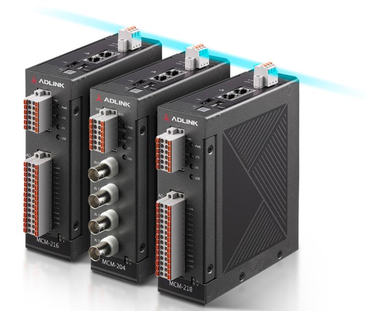 凌華科技推出全新MCM-216/218 邊緣DAQ數據采集解決方案