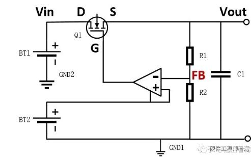 大电流线性电源(LDO)原理的超详细解读