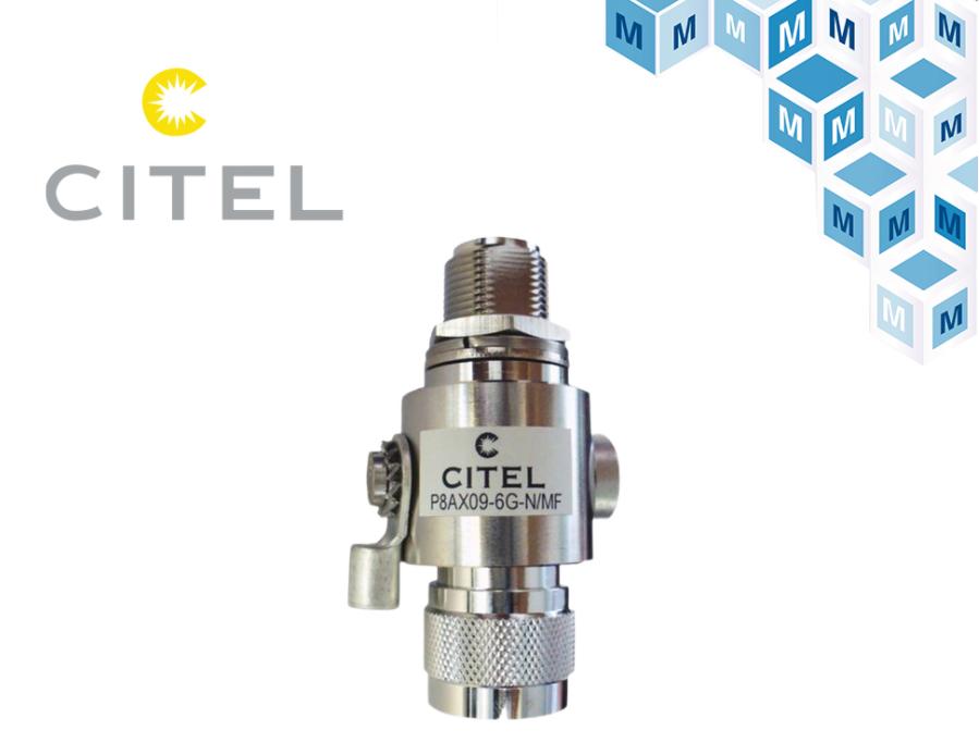 貿澤電子宣布與浪涌保護產品制造商CITEL簽訂分...