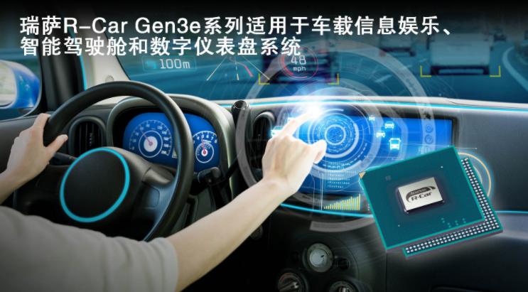 瑞薩電子面向車載信息娛樂、智能駕駛艙和數字儀表盤系統推出R-Car Gen3e,CPU速度提升達20%