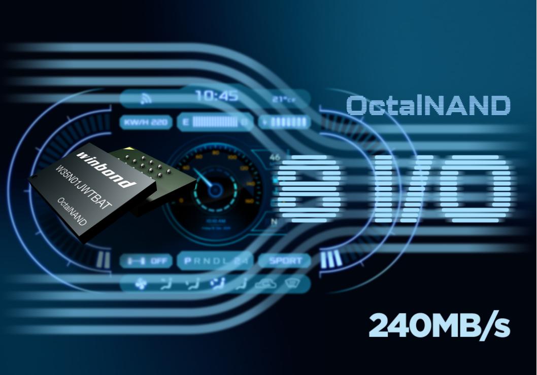 華邦OctalNAND Flash與新思科技DesignWare AMBA IP完美契合,提供完整的高容量NAND閃存解決方案