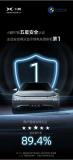 小鵬汽車持續進化:小鵬P7安全+智能雙五星