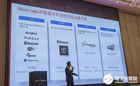 华体会体育_Silicon Labs周巍:携手苹果推进Matter技术标准 蓝牙5.2低功耗芯片方案引领业界