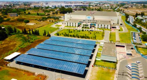 意法半导体的摩洛哥Bouskoura工厂2022年可再生能源使用率将达50%