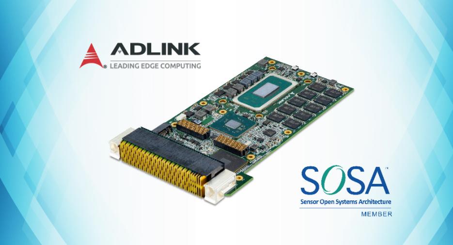 凌华科技推出采用传感器开放式系统架构(SOSA)...