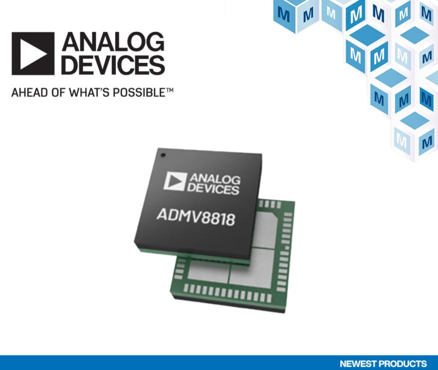 貿澤開售Analog Devices ADMV8...
