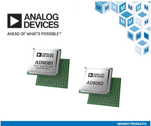貿澤備貨Analog Devices AD908...