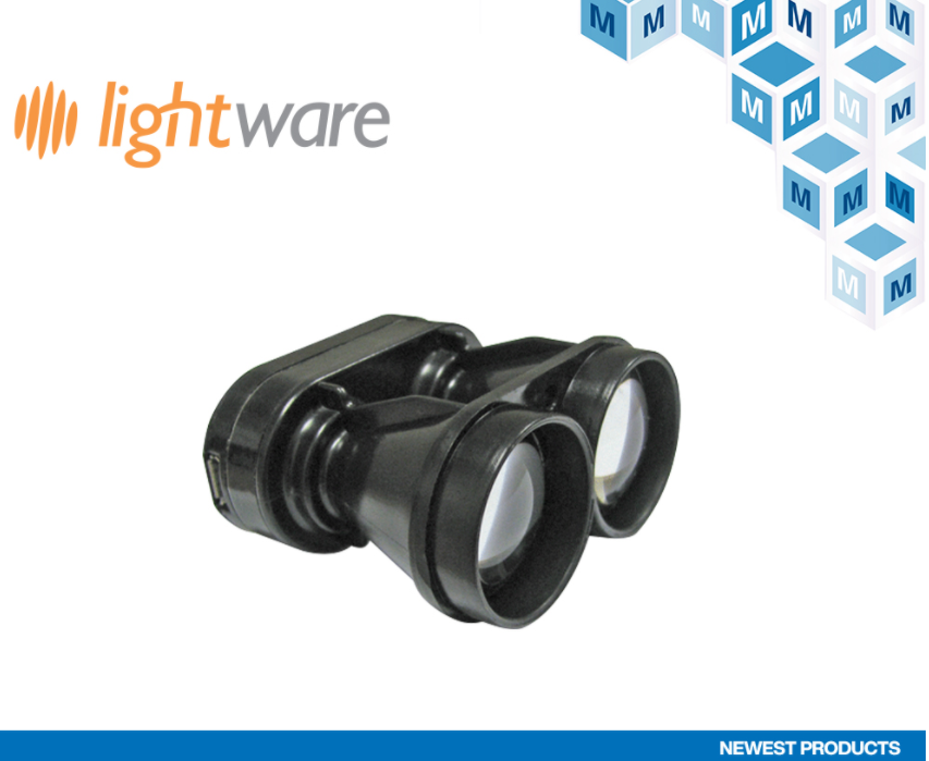 貿澤電子與LightWare LiDAR簽署全球...