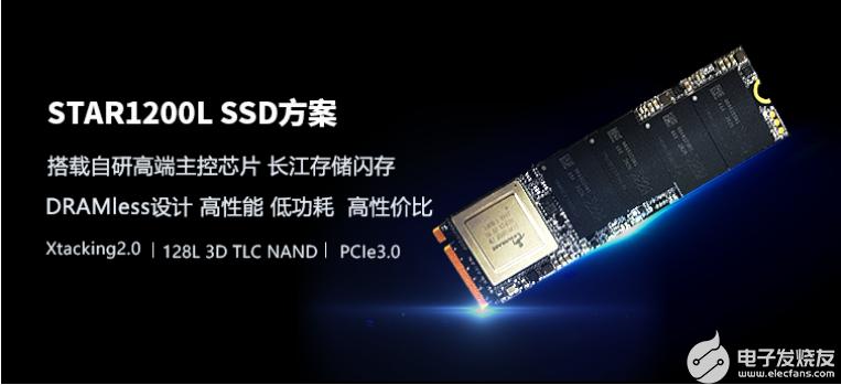 忆芯科技首款DRAM-Less固态硬盘,搭载自研...