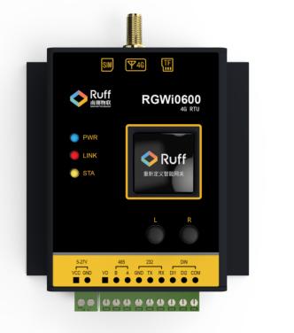 Ruff迷你網關:搭載SaaS實現零代碼配置,獨創智能屏顯