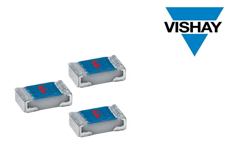Vishay推出新款AEC-Q200标准车用速熔薄膜贴片式保险丝
