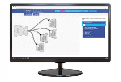 Pickering線纜設計工具Cable Design Tool現已可在中國方便使用一款可以定制設計線纜組件的網頁工具