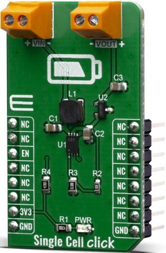 基于MIKROE-3844电池充电器的参考设计