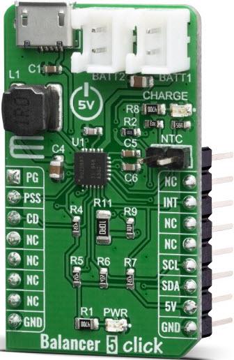 基于MIKROE-3853电池充电器的参考设计