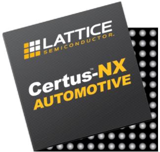 專為汽車應用優化的萊迪思Certus-NX FPGA