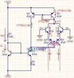 741运放内部P管构成的镜像电流源是怎么工作的