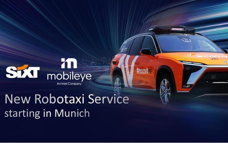Mobileye開展自動駕駛出租車業務,蔚來ES8成旗下Robotaxi首款車型