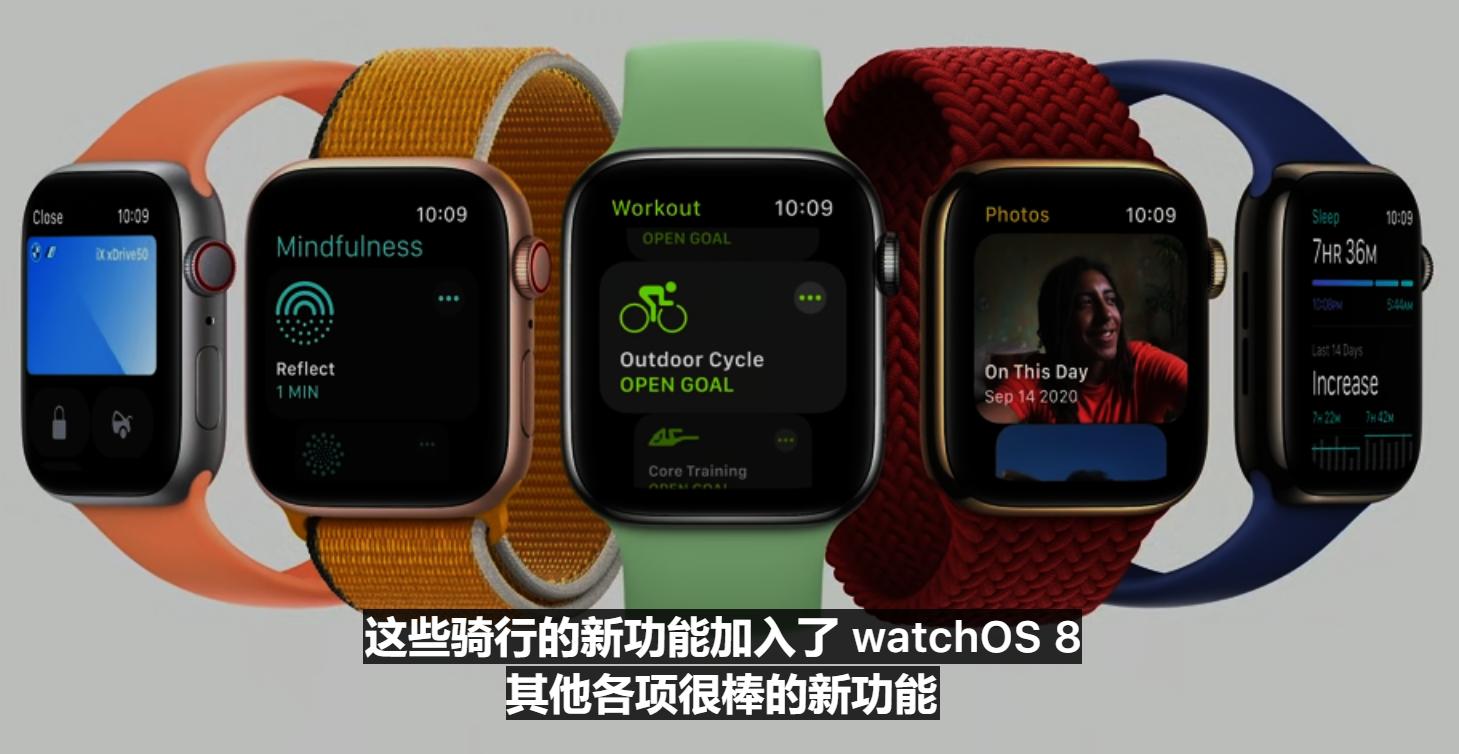 苹果秋季发布会 新款Apple Watch亮相