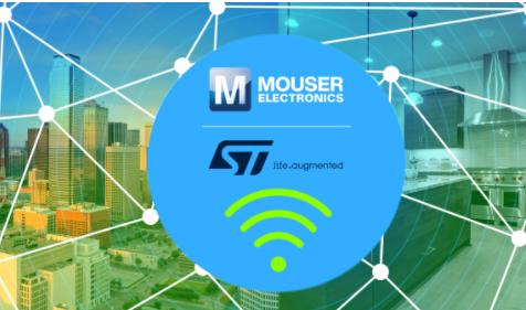 貿澤電子聯手STMicroelectronics推出全新內容網站,聚焦無線解決方案