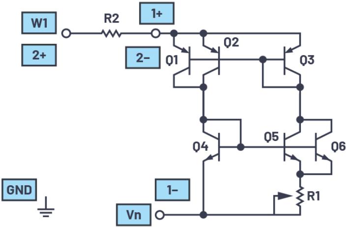 学子专区—ADALM2000实验:浮动(2端口)电流源/吸电流