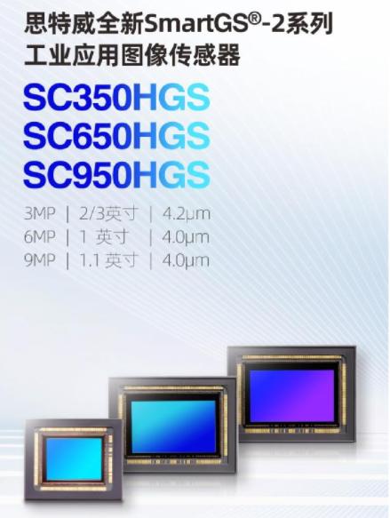 思特威推出三款全新SmartGS-2技術的工業應用CMOS圖像傳感器